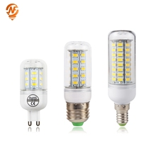LED Bulb E27 E14 220V SMD 5730 LED Light G9 24 36 48 56 69 72 LEDs Corn Bulb Chandelier For Home Lighting LED Lamp e27 led bulb e14 led lamp ac 220v 240v corn candle lamp 24 36 48 56 69 72 leds chandlier lighting for home decoration led lights