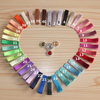 Free shipping, Ribbon hairbow, hair barrettes, LINED clips, Boutique bows, 196 stock colors