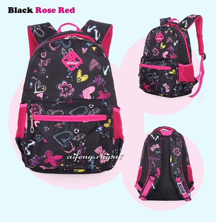 b5cb171d30bab الفتيات الزهور الطباعة رياض الابتدائية في الهواء الطلق حقيبة حقيبة ...