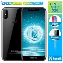 Hızlı kargo DOOGEE X70 Büyük meyilli 4000 mAh Smartphone MTK6580A 2 GB 16 GB Android 8.1 5.5 Inç 19:9 Cep telefonu