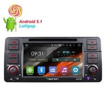 Quad-Core  Android 5.1.1  Car GPS Car DVD Player For BMW E46 1995~2005 GPS Navigation FM Radio Player