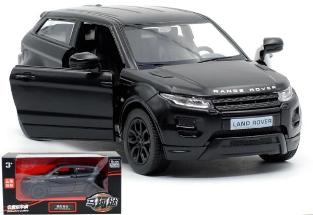 f7afbc706c220 1 pc 1 36 12.5 cm delicadeza legal preto Faixa Evoque carro puxar para trás  liga veículo modelo decoração de casa brinquedo do menino presente em  Veículos ...