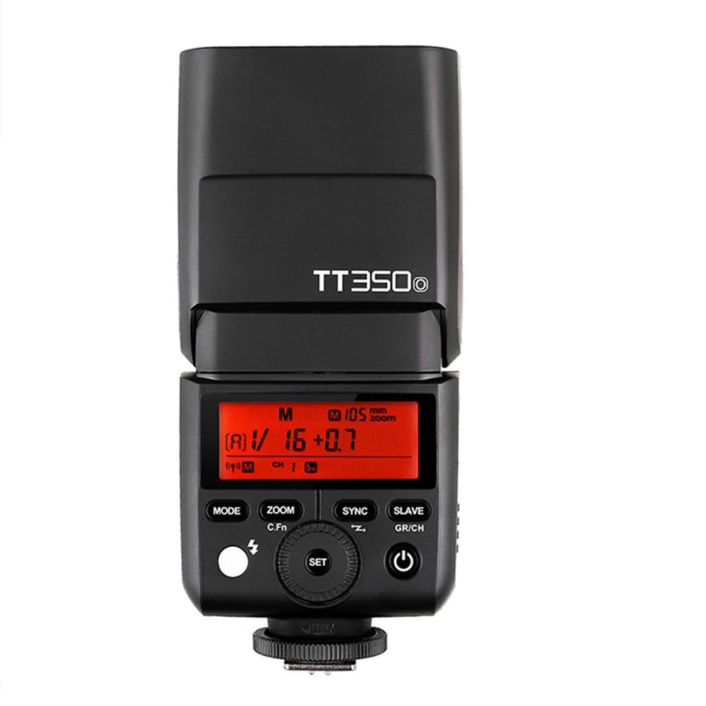 Mini Speedlite TT350 TT350O Camera Flash TTL HSS GN36 High Speed 1/8000S 2.4G for Olympus Panasonic Mirrorless DSLR Camera in stock godox mini speedlite tt350 tt350o camera flash ttl hss gn36 for olympus panasonic mirrorless dslr camera