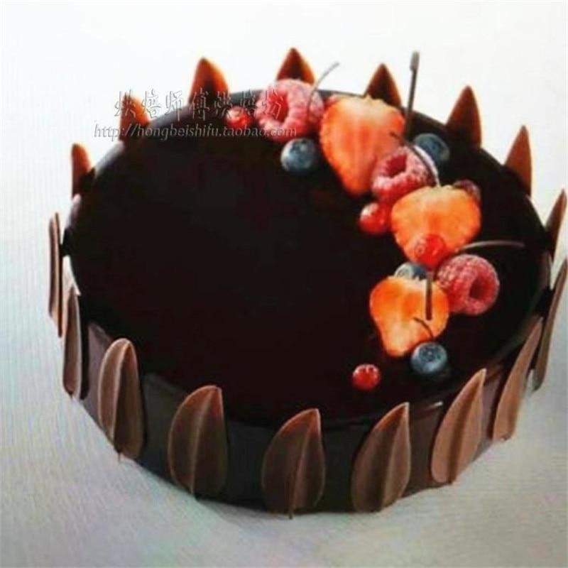 DIY 3D yarpaqları forma silikon şokolad qəlibindən hazırlanmış - Mətbəx, yemək otağı və barı - Fotoqrafiya 6