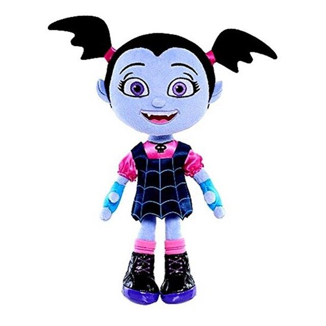 5pcs/lot 25cm Junior Vampirina The Vamp Bat Girl Plush