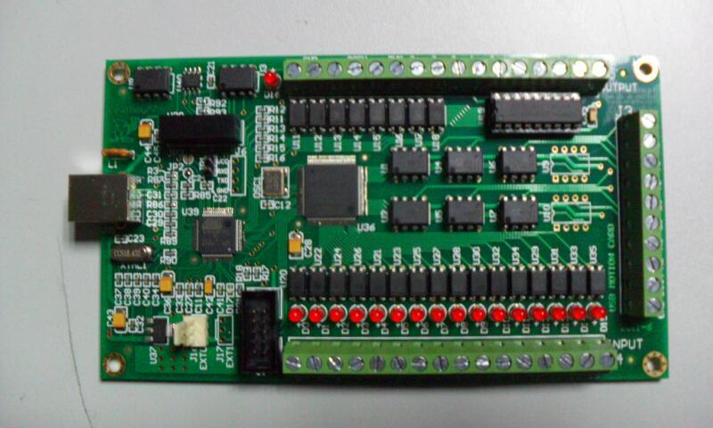 de controle movimento breakout placa interface cnc