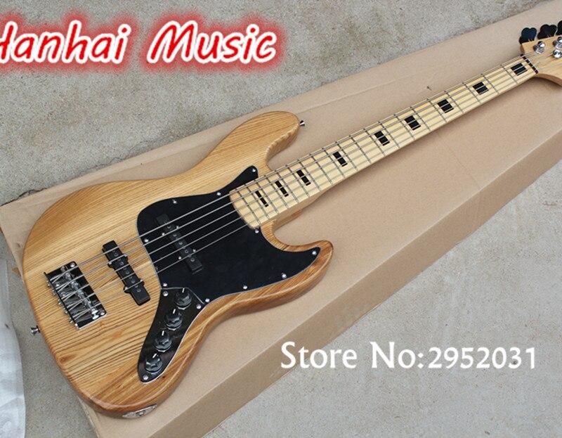 Heißer Verkauf Benutzerdefinierte 5 String Bass Gitarre mit ...