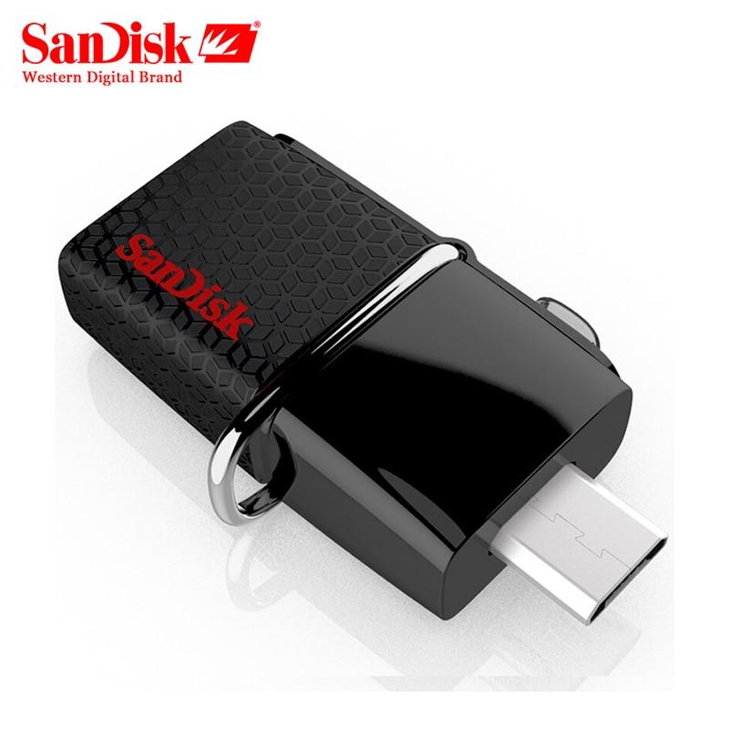Original SanDisk USB OTG Stift Stick 130 mb/s 3,0-Stick 16 GB Externe Speicher-Stick 32 gb OTG 64 GB Speicher Usb stick 3,0