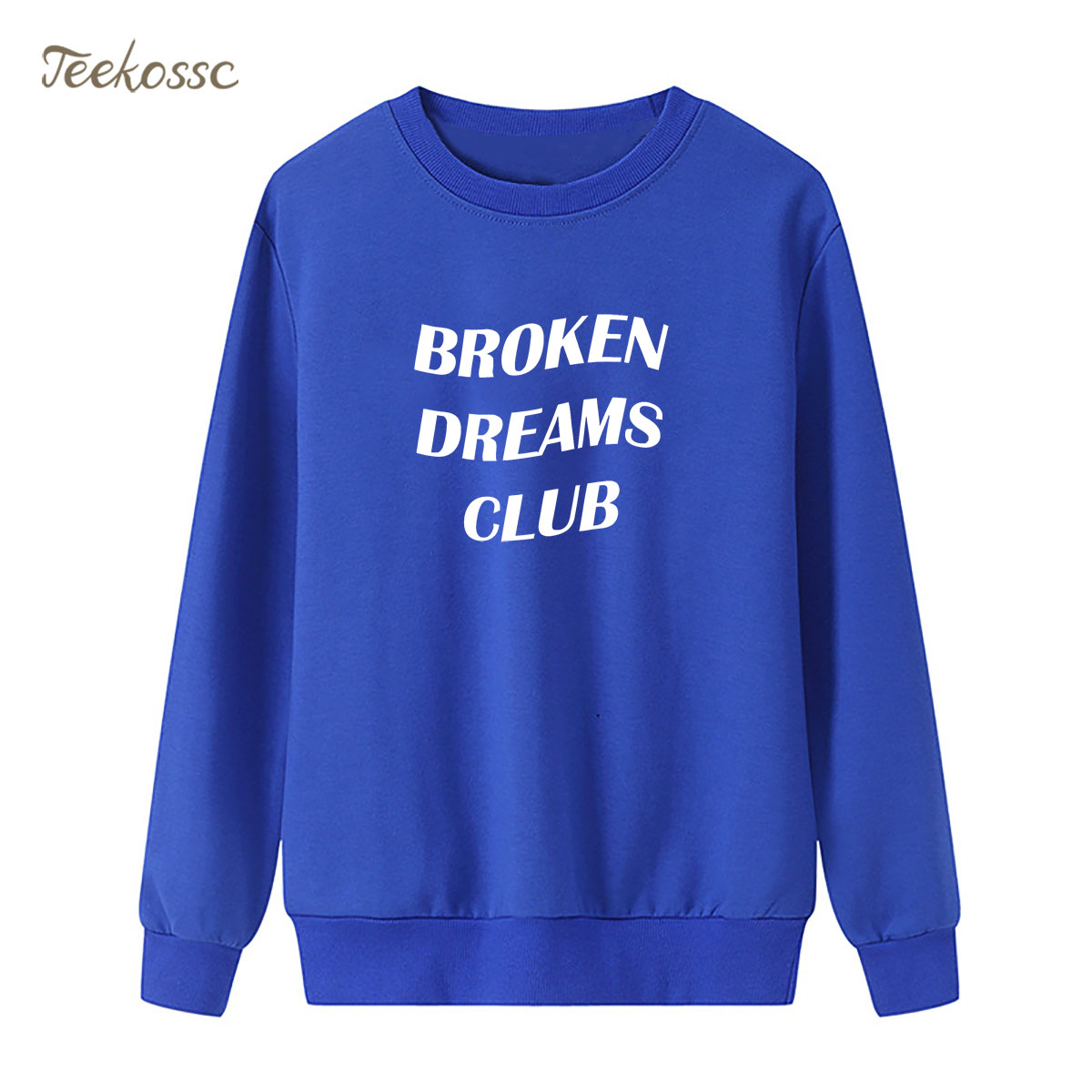 Broken Dreams Club Sweatshirt Music Hoodie 2018 Brand Winter Autumn Women Lady Pullover Fleece Loose Kpop Punk Rock Streetwear