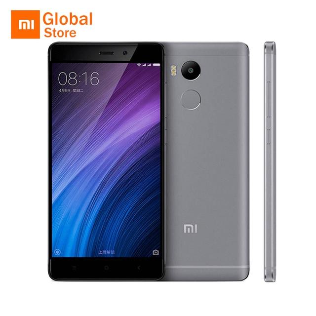 """Оригинал Xiaomi Redmi 4 Pro Простые 3 ГБ RAM 32 ГБ ROM Мобильный Телефон Snapdragon 625 Octa Ядро 5.0 """"FHD 13MP Камера"""