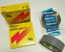 5Pcs/Lot Japan Nitoflon Adhesive Tap 903UL PTFE T0.18mm*W19mm*L10m Nitto Denko Tape Resistance Heat Sealed Seam Tape(China)