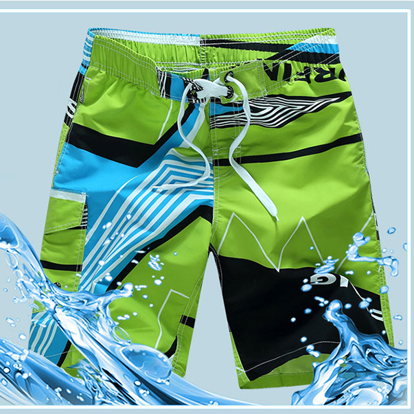 Happy Easter Bunny Rabbit Egg Swim Trunks Quick Dry Casual Polyester Shorts