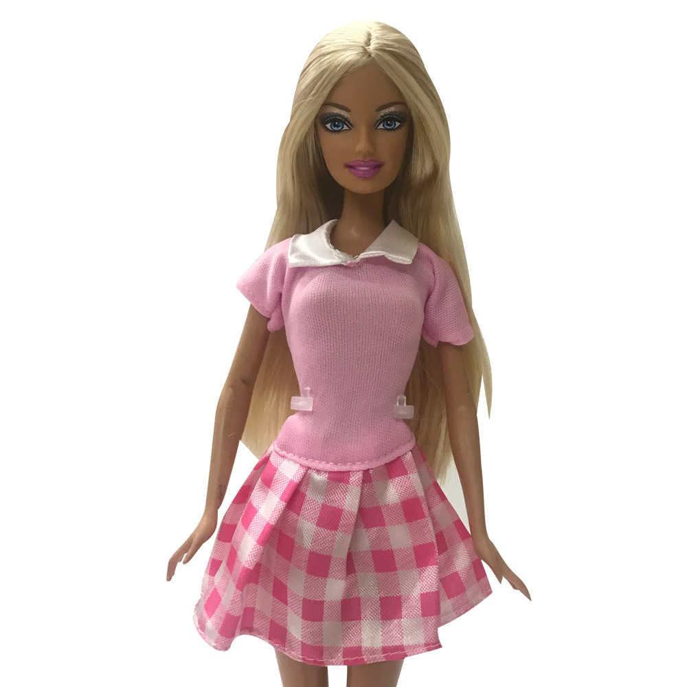 NK 2019 новые куклы платье красивые вечерние работы вечерние ClothesTop модное для Барби прекрасная кукла Best ребенок Girls'Gift 085J