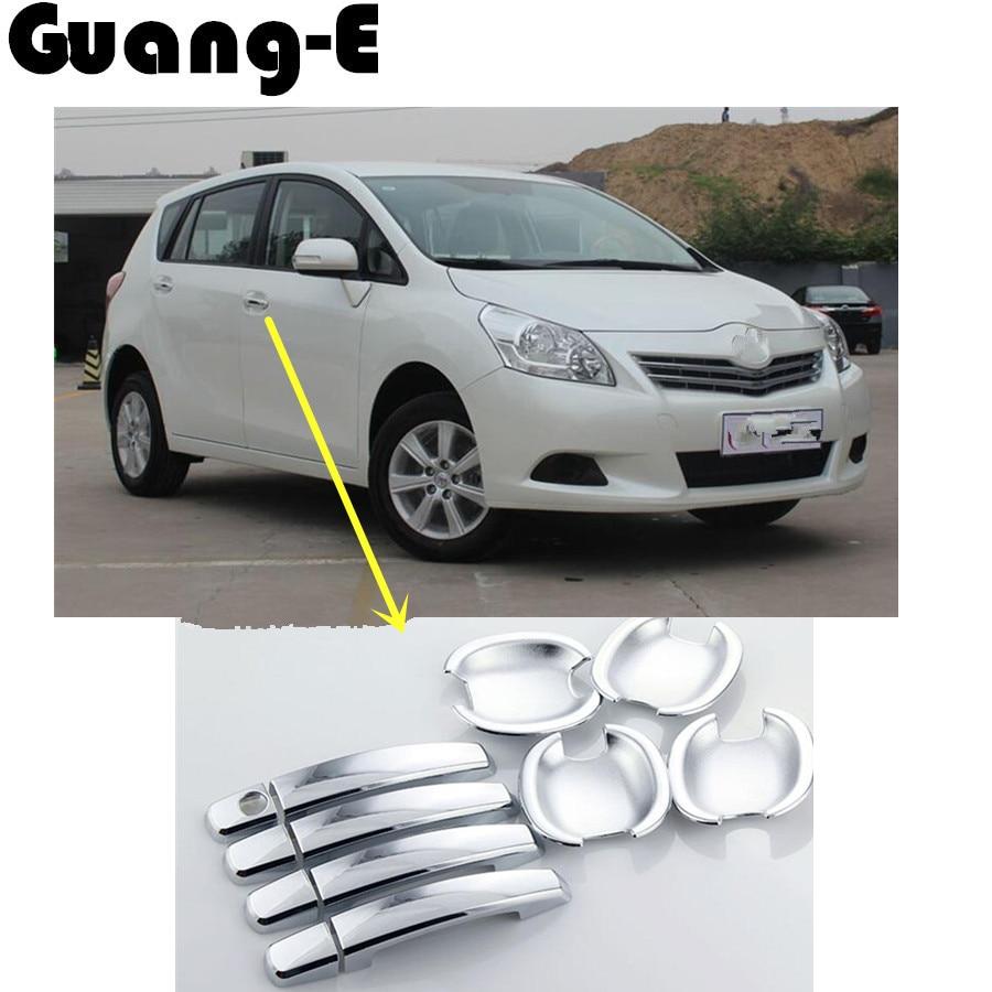 ᗜ LjഃCubierta del coche detector palo marco lámpara de recorte ABS ...