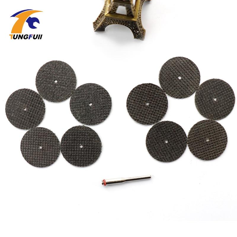 Tungfull 100 pezzi 36mm kit disco di taglio ruota in resina da taglio - Accessori per elettroutensili - Fotografia 4