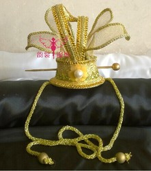 Original Vintage Chinese Emperor or Prince Hair Coronet Hair Piece Hair Accessory