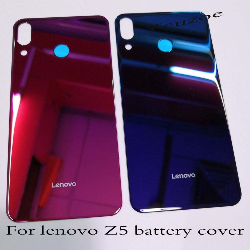Original Back Housing for Lenovo Z5 L78011 L78012 Battery Cover Case Rear Door Replacement Parts