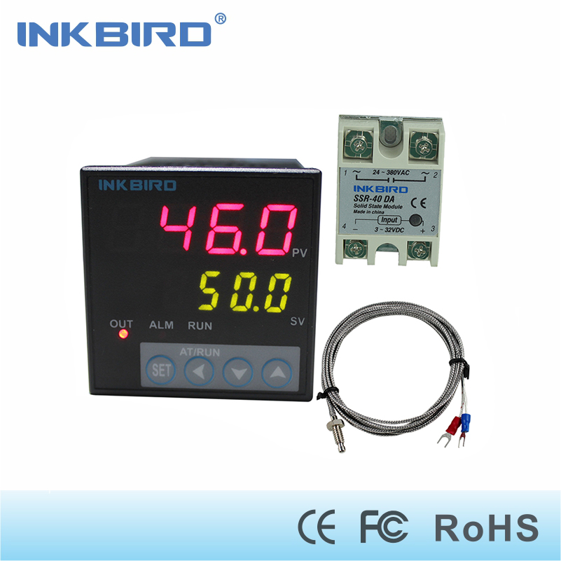 Inkbird ITC-106VH PID Temperature Controllers + K sensor + 40A SSR, 100 - 240AC, Solid State Relay for Sous Vide, Home Brewing auto tuning of pid and fuzzy controllers using genetic algorithm