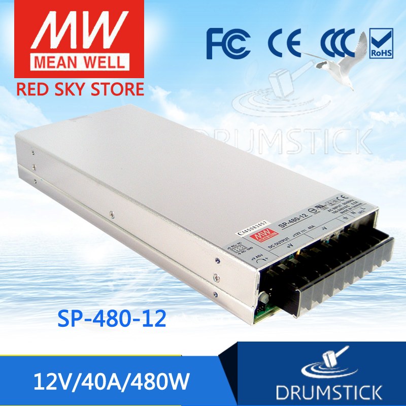 все цены на best-selling MEAN WELL SP-480-12 12V 40A meanwell SP-480 12V 480W Single Output with PFC Function Power Supply [Real1] онлайн