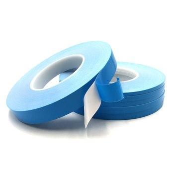 5 m por rollo 5mm 6mm 7mm 8mm 10mm 20mm doble cara adhesivo cinta para IC refrigeración fija Pin LED COB disipador térmico cinta del pegamento