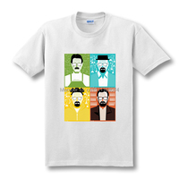 Breaking Bad T Shirt Men Heisenberg COOK Walter Male Tops Tees I Am The One Who