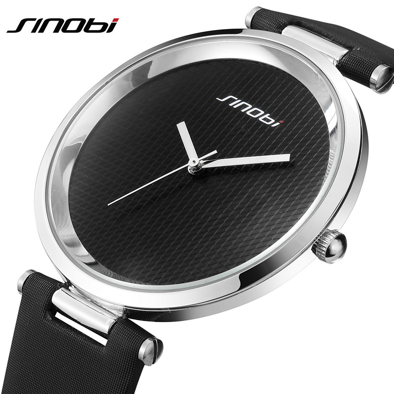 SINOBI Fashion Women Ladies Wrist Watch Leather Luxury Brand Female Dress Quartz Clock Lady Watch Montre Femme relogio feminino newly design dress ladies watches women leather analog clock women hour quartz wrist watch montre femme saat erkekler hot sale