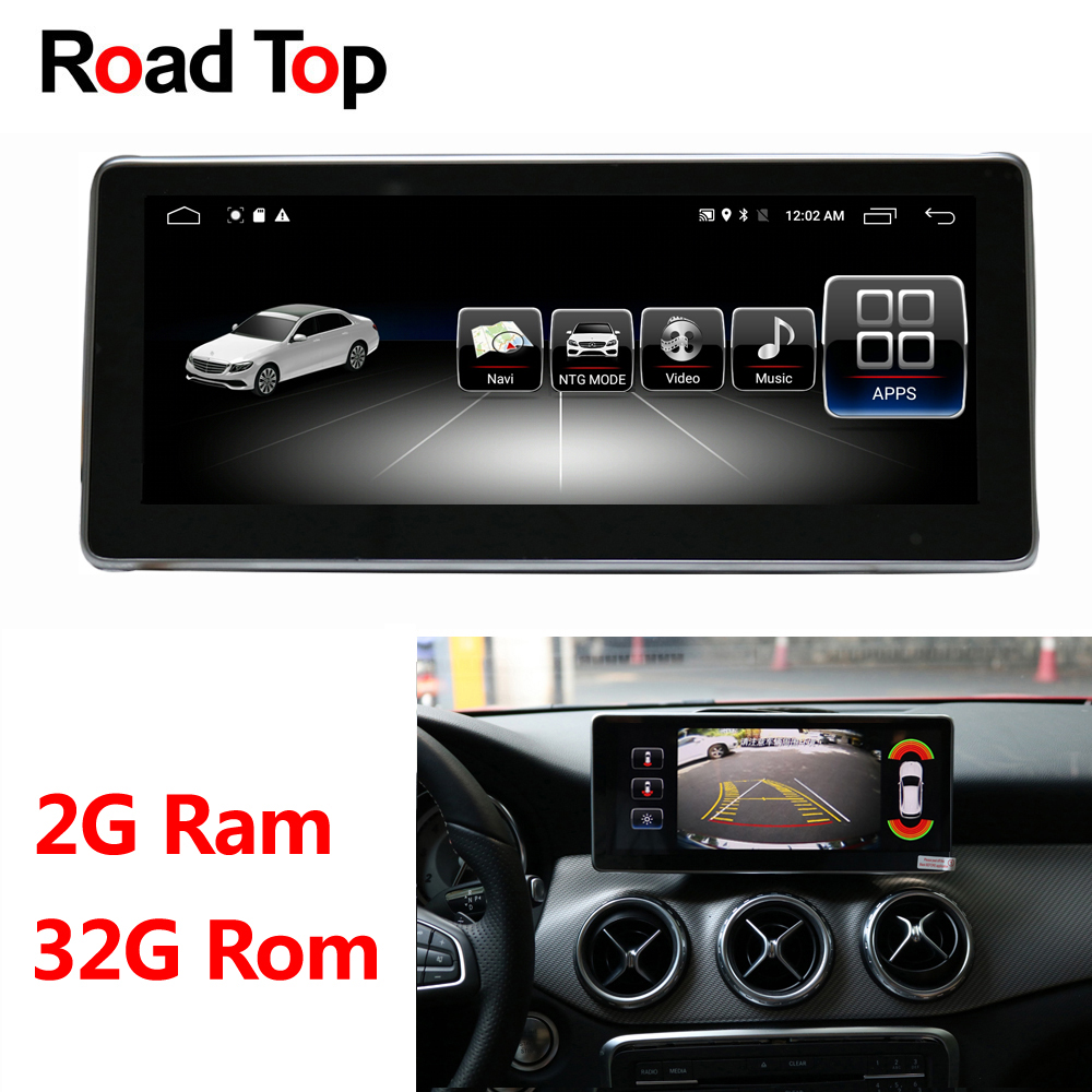 10.25 Android 8.1 Display 2+32G for Mercedes Benz A Class W176 Car Radio Monitor WiFi GPS Navigation Bluetooth Head Unit Screen10.25 Android 8.1 Display 2+32G for Mercedes Benz A Class W176 Car Radio Monitor WiFi GPS Navigation Bluetooth Head Unit Screen
