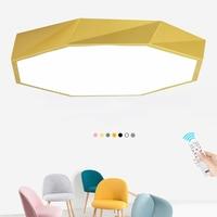 Modern geometric Ultra thin 5cm art Ceiling lamps creative personality Diamond Ceiling Light for Bedroom Living room Foyer