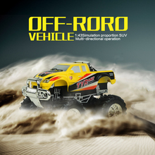 Mini RC Car 8013 High Speed Remote Control Cars 2.4V 2.4G RC Model Off-Road Vehicles Desert Truck