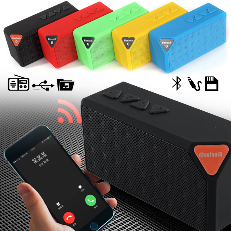 Wireless Bluetooth Speaker 2018 Protable Speaker for the computer fm radio Music sound box soundbar mobail phone PC connect