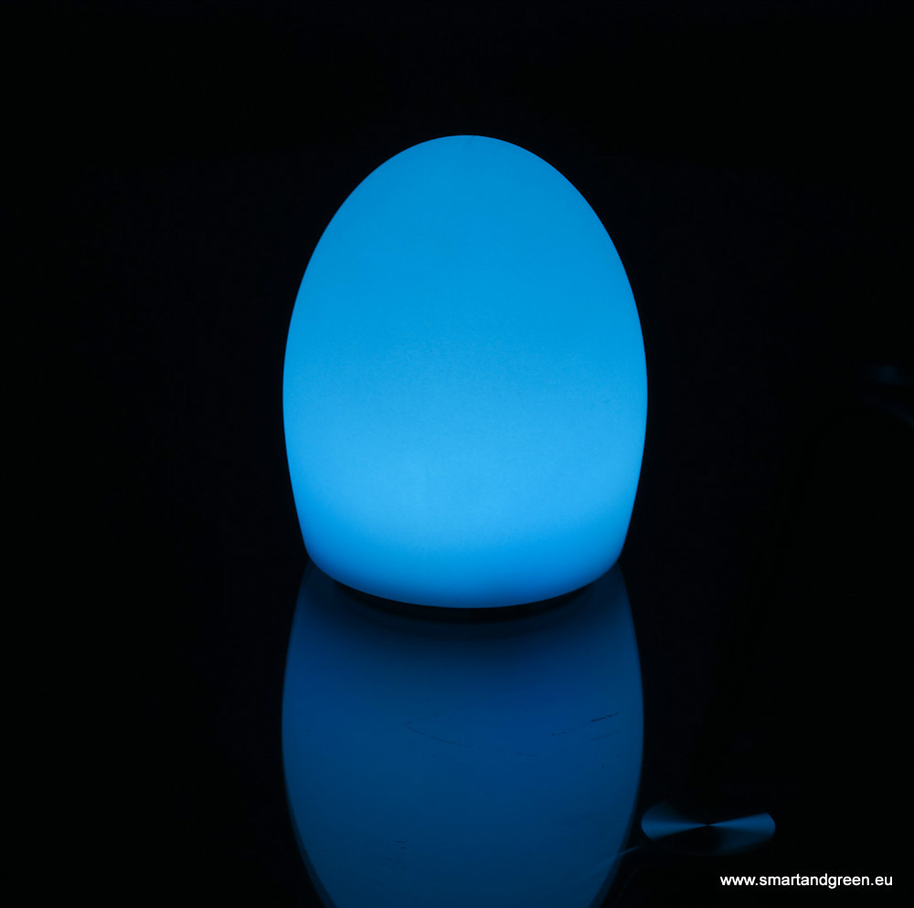 ball night light. waterproof multicolor led atmosphere lamp amber egg stone ball rechargeable night light cordless