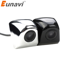 Eunavi 4 Layer Glass Lens Auto Night Vision Reverse Backup Camera Car CCD Rear View Camera For Car DVD Parking Monitor smartour hd ccd fisheye lens rear view camera ahd 1080p night vision backup parking waterproof for reversing monitor