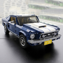 Creator Expert Series 1471PCS Ford Mustang Sport Car Building Blocks Bricks Compatible With Brand 10265 Toy For Kids lepin 17003 creator expert sydney opera house 2989pcs building blocks australia s architectural compatible with legoed 10222