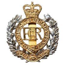 Lower  price custom badge Wholesale ROYAL ENGINEERS BRITISH ARMY METAL CAP BADGE top quality cap FH680097