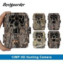 Bestguarder HD PIR Podczerwieni Night Vision Kamera 12MP aparat Cyfrowy Aparat Szlak Polowania Pułapka Aparat polowania kamery GPS Dzikie