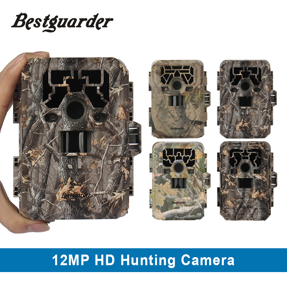 Bestguarder HD PIR Infrared Night Vision Hunting Camera 12MP Digital Trail Camera Trap GPS Wild Camera game hunting camcorder