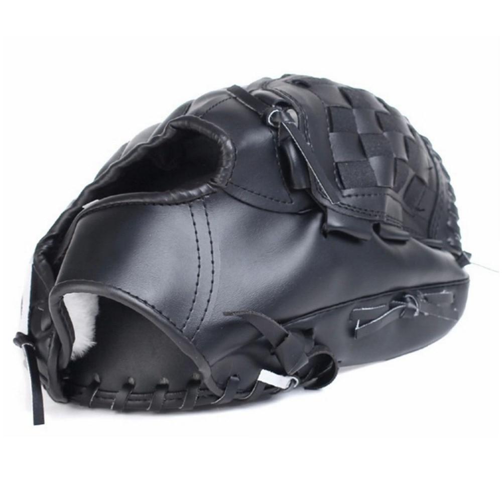 Sporthandschuhe Baseball Handschuhe Neue Tragbare Dark Brown Durable Männer Softball Baseball Handschuh 1,2mm Pvc Sport Spieler Preferred Orange Schwarz Rosa Gut Verkaufen Auf Der Ganzen Welt