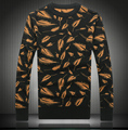 Зима мужская ткань камыша стиль сгущает мода пуловер homme Рождество свитер размер M ~ 3XL, 4XL #9808