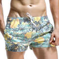 Verano Hombres pantalones Cortos de Playa Troncos del traje de Baño Beachwear del traje de Baño Traje de Baño de Secado rápido Hombre Bermudas Baño de Piscina Corta Desgaste Marca
