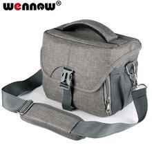 Wennew nowa wodoodporna kamera torba dla Nikon Canon SONY Panasonic Olympus FUJIFILM fotografia etui na telefon ze zdjęciem obiektyw plecak torba dslr