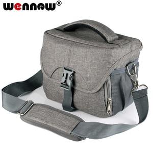 Image 1 - wennew New Waterproof Camera Bag for Nikon Canon SONY Panasonic Olympus FUJIFILM Photography Photo Case Lens Backpack DSLR Bag