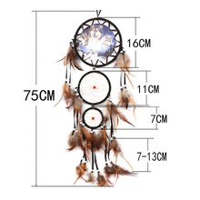 Animal Patterned Dreamcatcher for Home Decor