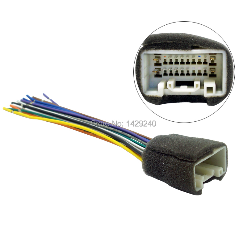 online get cheap aftermarket stereo wiring harness adapters car radio stereo wiring harness adapter for mitsub