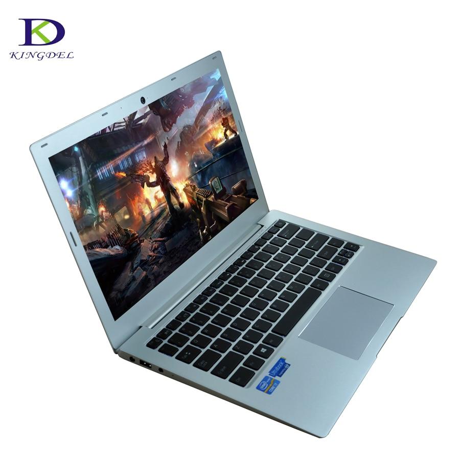 New DDR4 13 3 laptop Compute 7th Gen i5 7200U Dual Core UltraSlim Laptop Computer Backlit