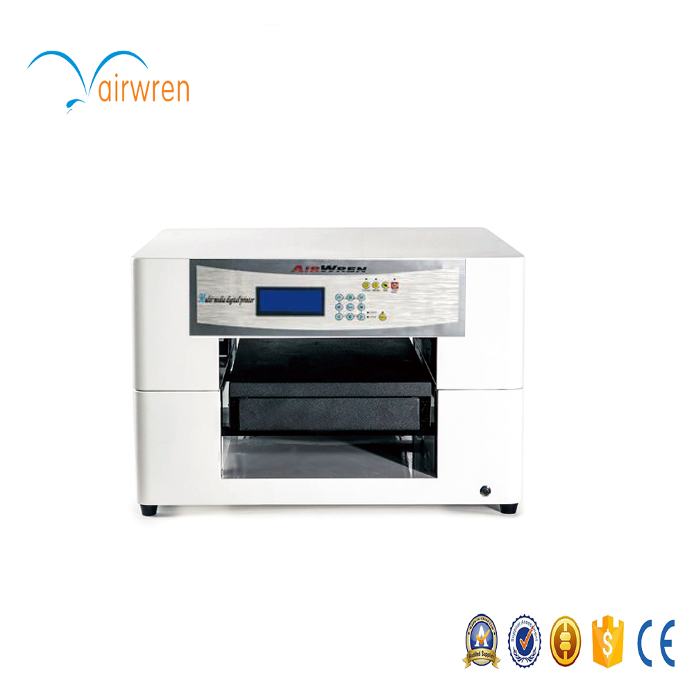 Best color printing quality - A3 Size Multi Color Shell Earrings Eco Solvent Printer With High Quality