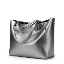 Fashion Leisure Handbags Women Shoulder Sling Bags Genuine Leather Messenger Female Elegant Handbag 2018 Casual Tote Shopper Bag недорого