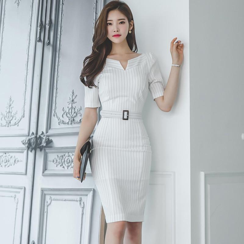Летние Для женщин макси 2017 повязку Офис Bodycon Винтаж в полоску белое платье плюс Размеры длинные Платья для вечеринок Vestidos Festa роковой