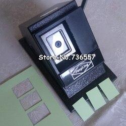 Manuel 32x40mm Photo papier Cutter Multi feuilles support papier graphique poinçon Die Cutter 25x35mm 30x40mm 35x45mm 50x50mm trou perforateur