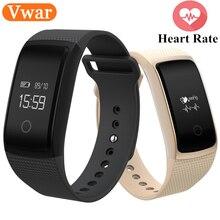 Vwar A09 Смарт-часы Приборы для измерения артериального давления кислорода сердечного ритма здоровья Мониторы трекер активности Bluetooth Водонепроницаемый для IOS Android