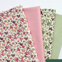 Printed Baby Cotton Twill Fabric by half meter for DIY Sewing Bed Sheet Dress making cotton fabric